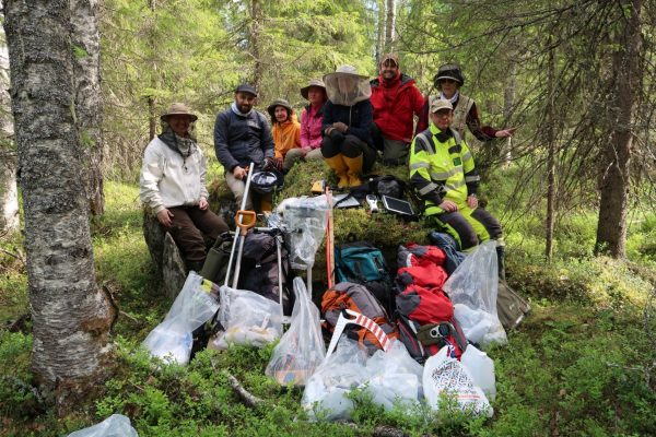 NEXT field crew during the summer field sampling campaign in Finland